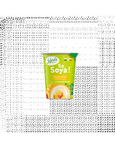 Бифидойогурт соевый манго-персик, Sojade, 125мл