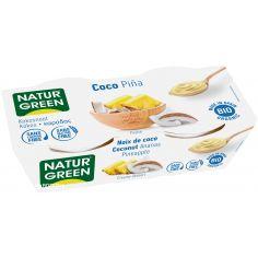 Десерт кокосовый с ананасом, Naturgreen, 125г