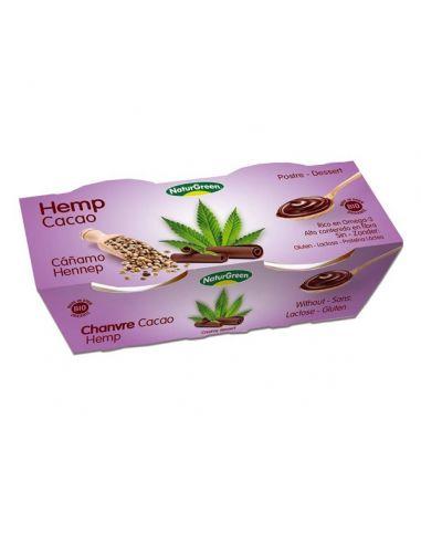 Десерт конопляный с шоколадом, Naturgreen, 125г