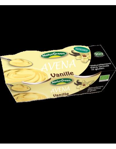 Десерт миндальный с ванилью, Naturgreen, 125г