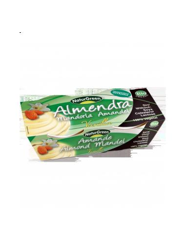 Десерт миндальный с сиропом агавы, Naturgreen, 125г