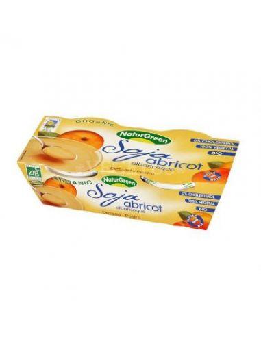 Десерт соевый с абрикосом, Naturgreen, 2*125г