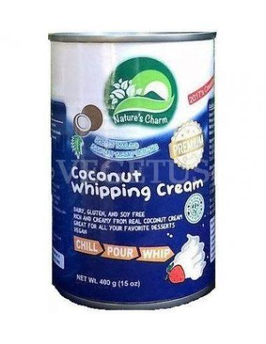 Сливки кокосовые для взбивания, 20%, 400г