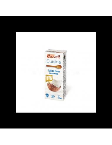 Сливки кокосовые, EcoMil, 200мл
