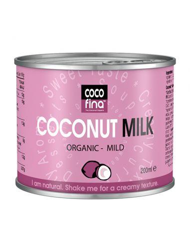 Молоко кокосовое, CocoFina, 200г