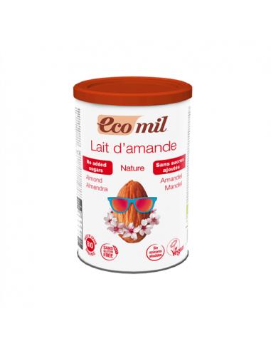 Молоко миндальное растворимое, Ecomil,400г