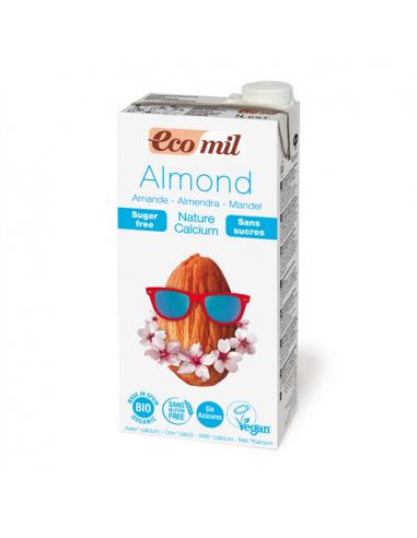 Молоко миндальное с кальцием, EcoMil, 1000мл
