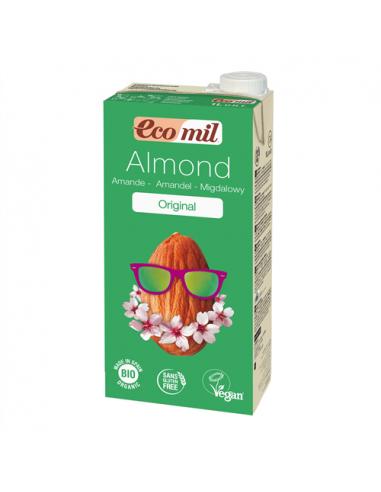 Молоко миндальное с сиропом агавы, EcoMil, 200 мл