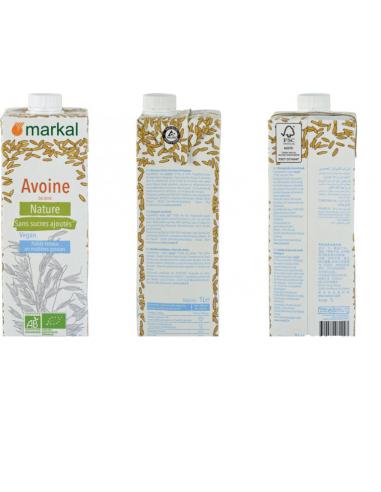 Молоко овсяное OAT Drink, MARKAL, 1000мл