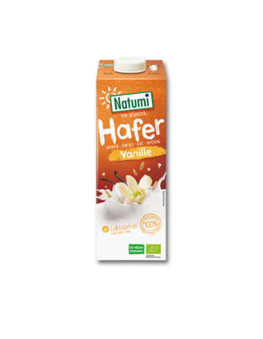 Молоко овсяное с ванилью, Natumi, 1000мл