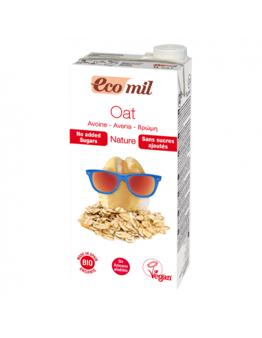 Молоко овсяное, Ecomil, 1000мл