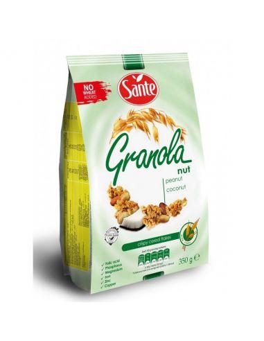 Гранола с арахисом и кокосом , Sante, 350г