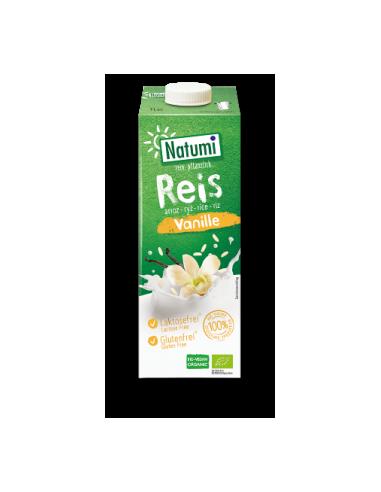 Молоко рисовое с ванилью, Natumi, 1000мл