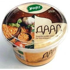 Даал, закуска индийская из чечевицы, Yofi, 250г
