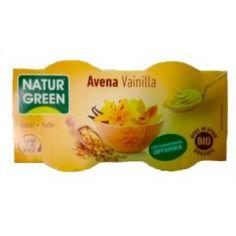 Десерт овсяный с ванилью, Naturgreen, 125г.