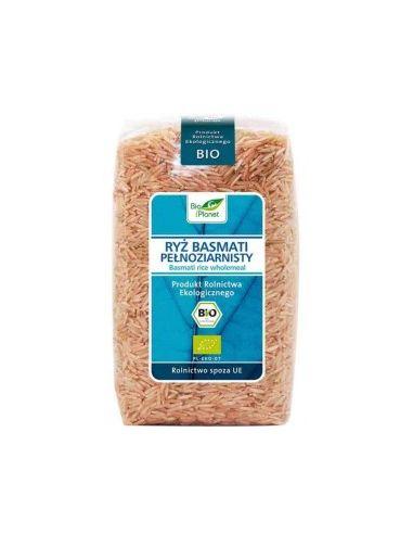 Рис басмати цельнозерновой, Bio Planet, 500г