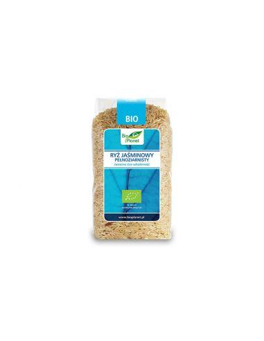 Рис жасмин цельнозерновой, Bio Planet, 500г