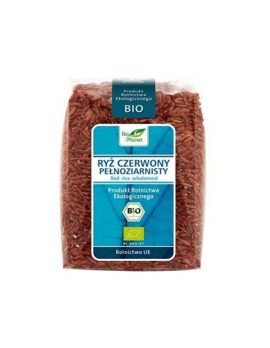 Рис красный  цельнозерновой, Bio Planet, 400г