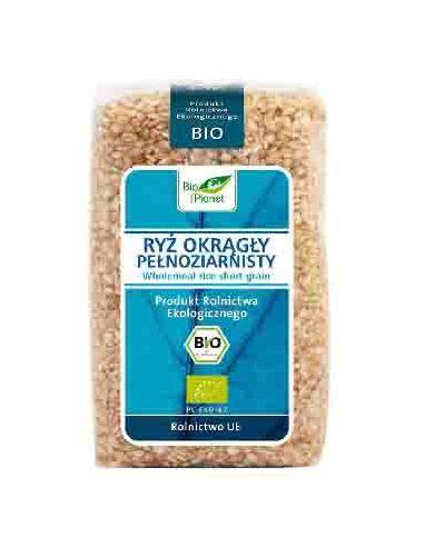 Рис круглый цельнозерновой, Bio Planet, 500г