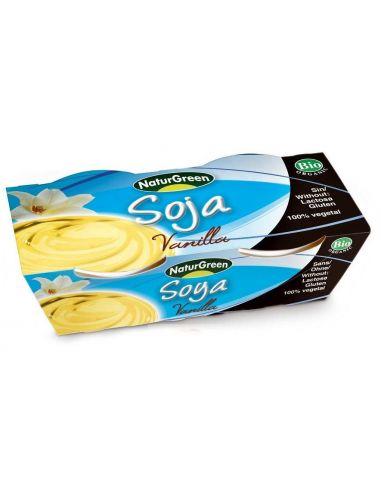 Десерт соєвий з ваніллю, NaturGreen, 125г