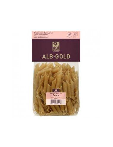 Макароны из коричневого риса, ALB-Gold, 250г