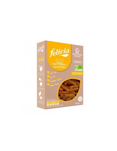 Макароны из коричневого риса, FELICIA, 250г