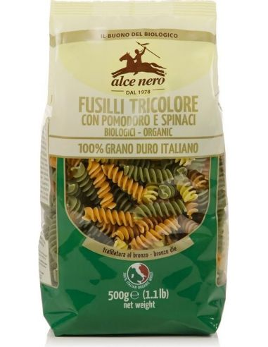Макароны трехцветные Fusilli