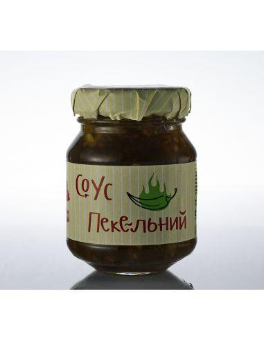Пекельний соус зелений екстра, Інша їжа, 80г