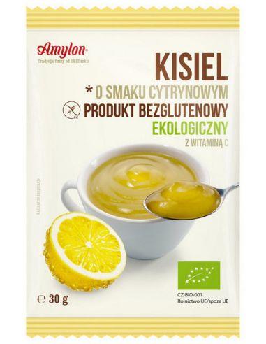 Кисель лимонный (без глютена), Amylon, 30г
