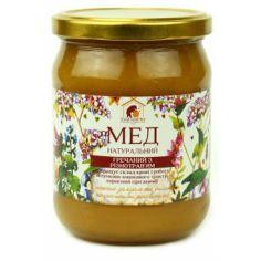 Правильный мед гречишный с разнотравием, 460мл