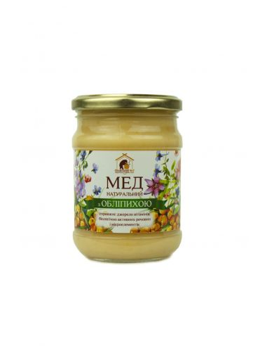 Правильный мед с облепихой,250мл
