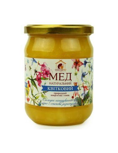 Правильный мед цветочный разнотравие, 460мл