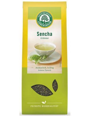 Чай зеленый Sencha, Lebensbaum,75г
