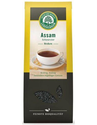 Чай черный Assam, Lebensbaum,100г