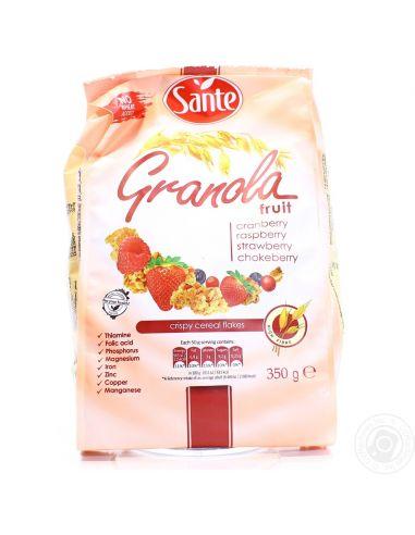 Гранола с фруктами, Sante, 50г