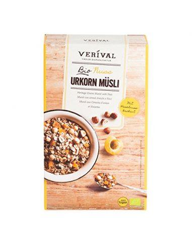 Мюсли с кокосом и абрикосом без глютена, Verival, 325г
