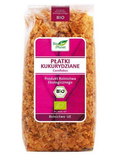 Хлопья кукурузные цельнозерновые, Bio Planet, 300г
