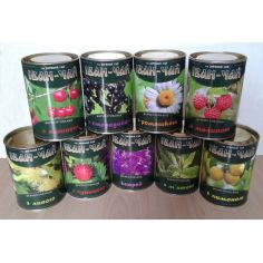 Иван чай ферментированный с вишней, Зоряний Гай, 100г