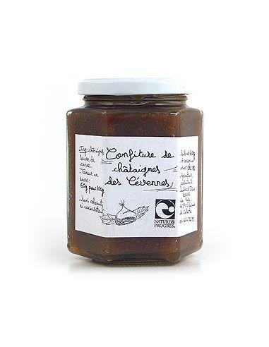 Джем из каштанов, Organic Chestnuts Jam, 220 гр