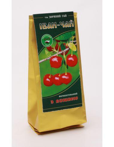 Іван чай ферментований з вишнею, Зоряний Гай, 50г