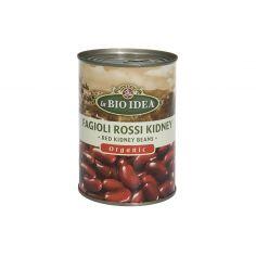 Фасоль кидней (красная) консервированная, Bio Idea, 400г