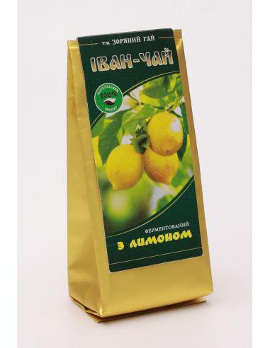 Іван чай ферментований з лимоном, Зоряний Гай, 50г