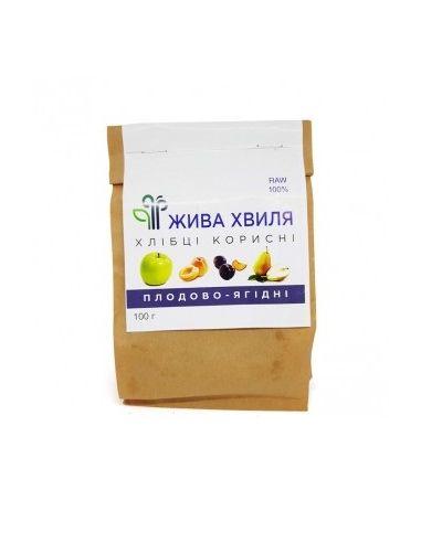 Хлебцы плодово-ягодные, Жива Хвиля, 100г