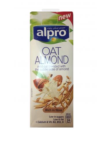 Молоко миндальное - овсяное, Alpro, 1000мл