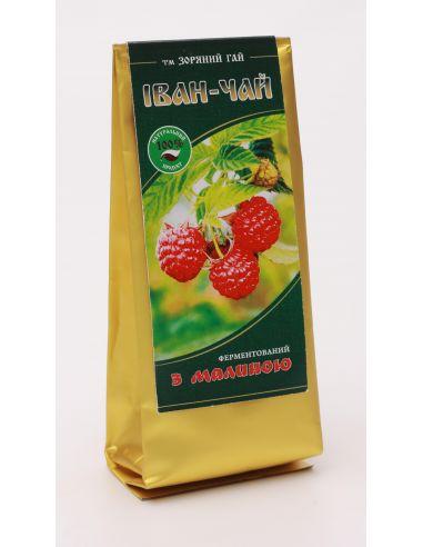 Иван чай ферментированный с малиной, Зоряний Гай, 50г