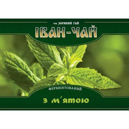 Иван-чай ферментированный с мятой Зоряний Гай, 100г