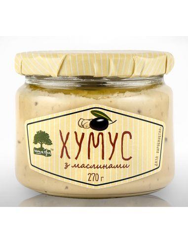 Хумус с маслинами, Інша їжа, 270г