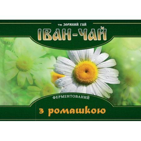 Іван чай ферментований з ромашкою, Зоряний Гай, 100г