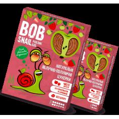 Натуральные яблочно-клубничные конфеты bob snail (Равлик Боб), 120г