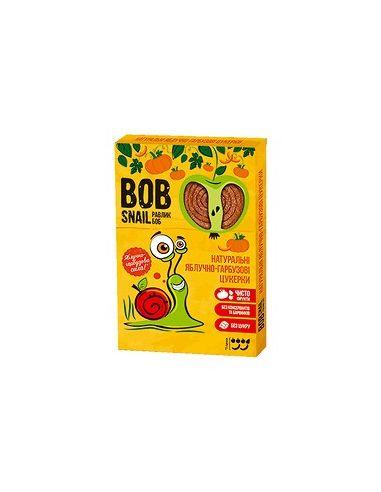 Натуральные яблочно-тыквенные конфеты bob snail (Равлик Боб), 60г